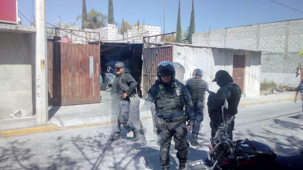 Vecinos hallan bodega de ladrones y tunden a uno en Tehuacán