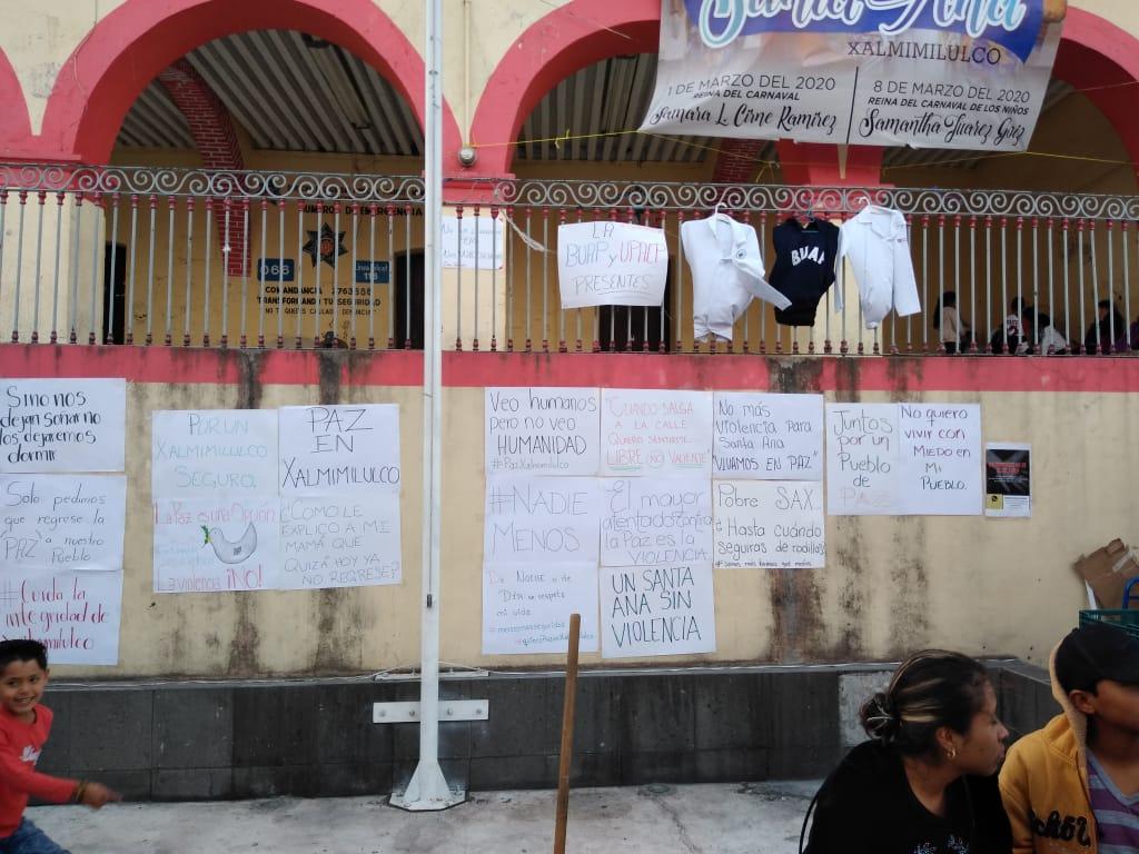 Campaña por la paz en Xalmimilulco