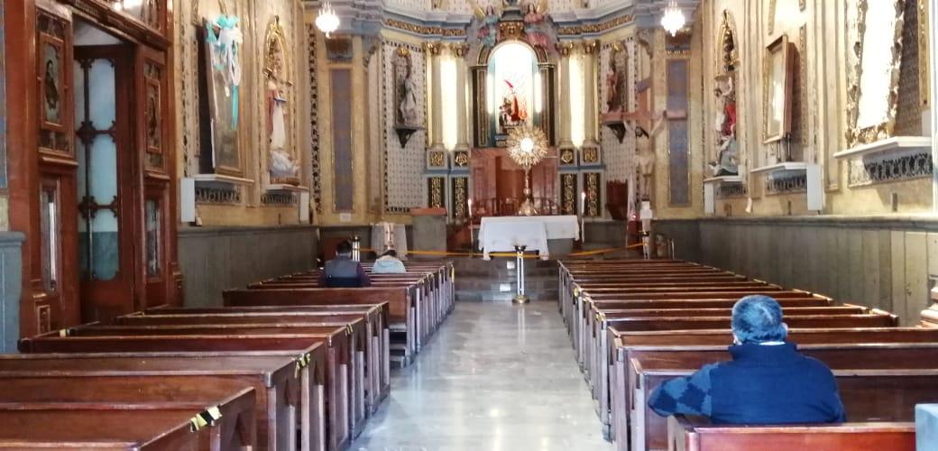 Iglesias de Texmelucan y Huejotzingo reabren con poca afluencia