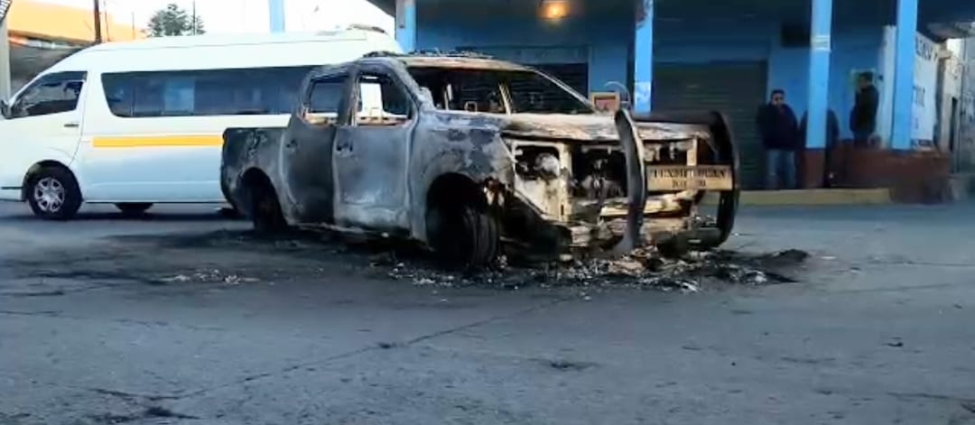 Se vive tensión en Moyotzingo tras hechos violentos