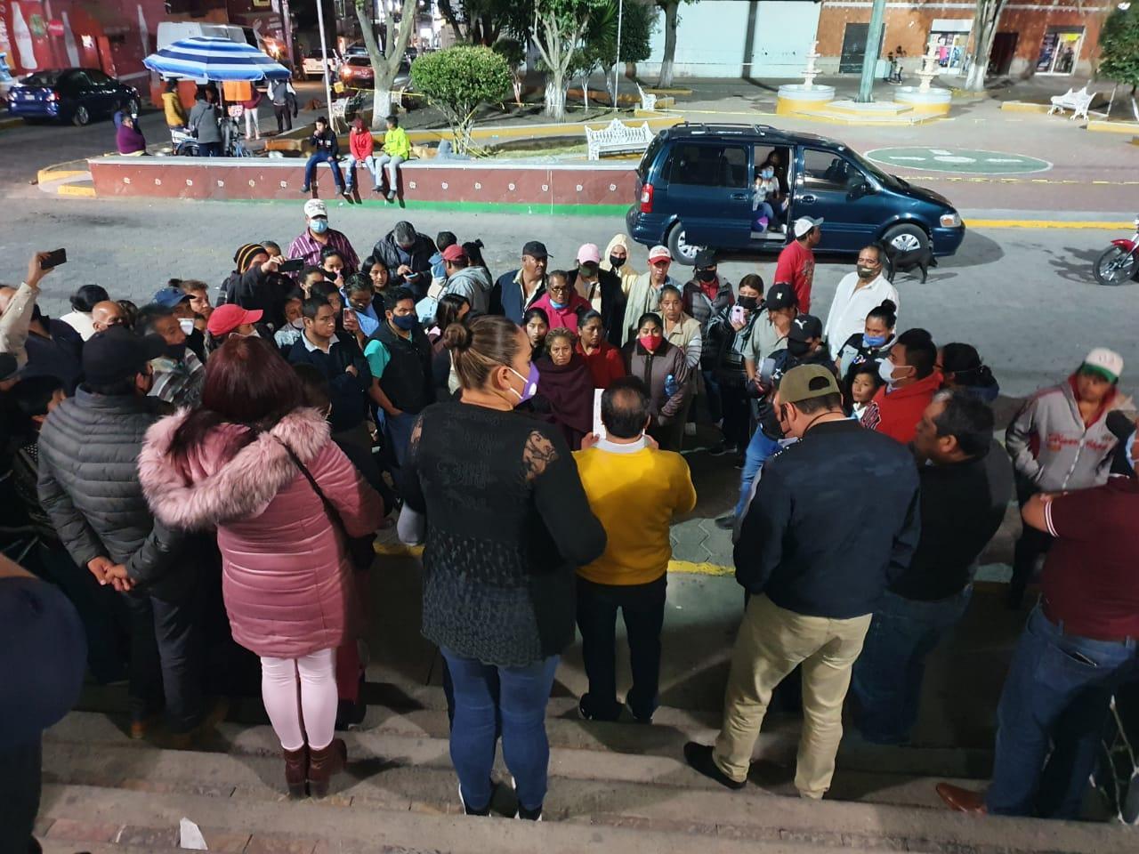 Logran acuerdos en Tlahuapan tras protestas por inseguridad