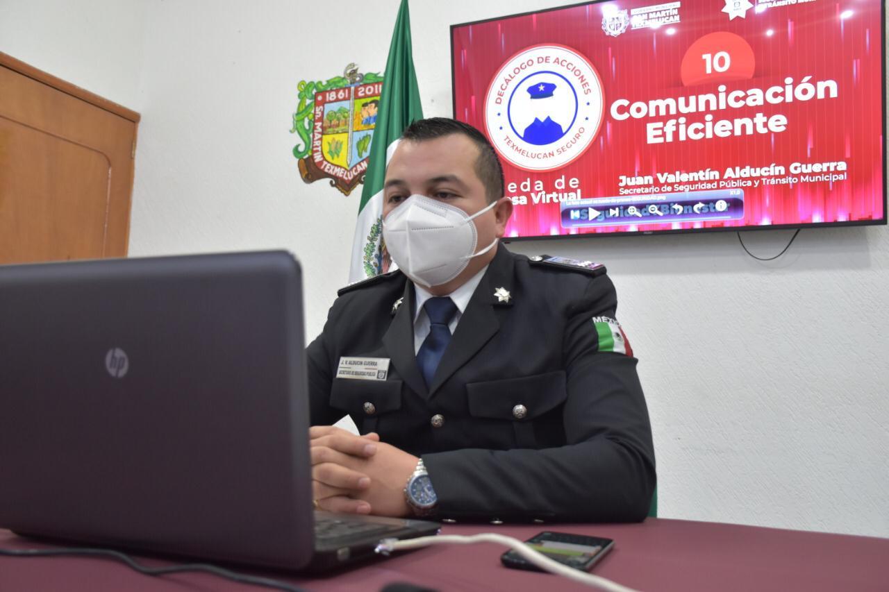 A la semana se atienden 5 reportes por violencia en Texmelucan