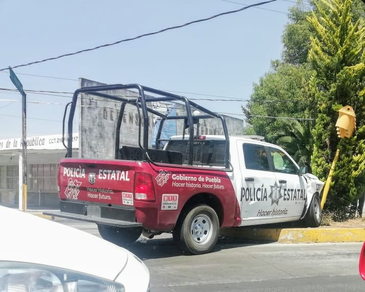 Saldo de familia lesionada tras choque de patrulla en Puebla