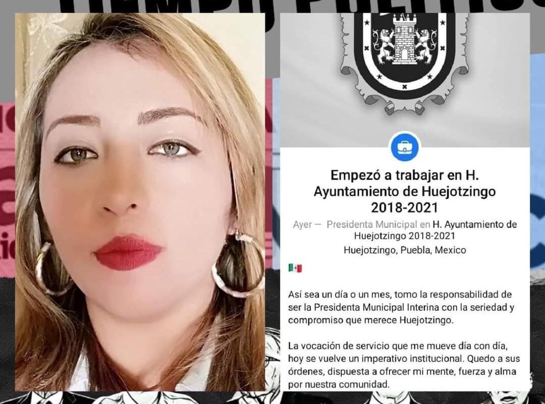 Llega Xóchitl Montalvo como alcaldesa interina de Huejotzingo