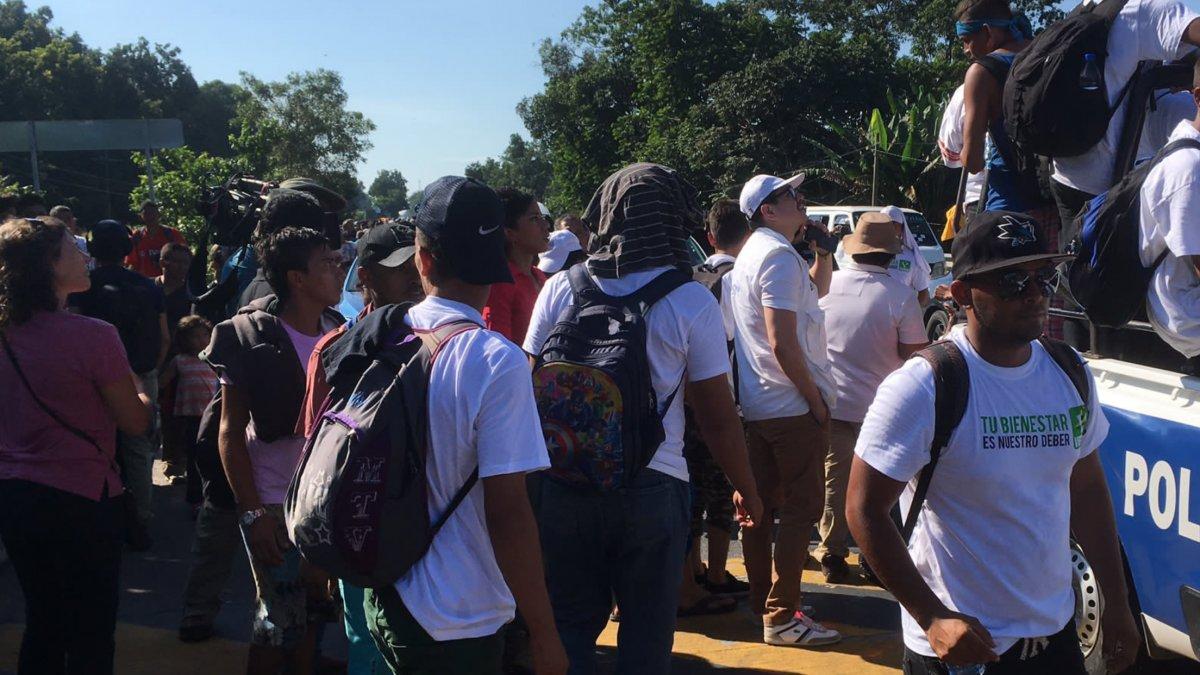 Migrantes llegan a Atlixco reclutados por bandas criminales