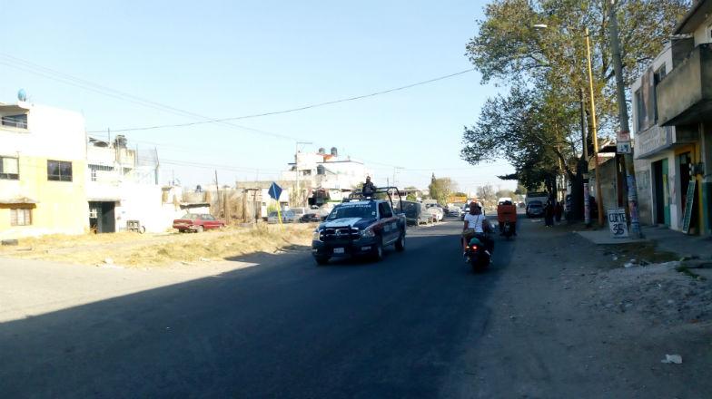 VIDEO: Policía es herido en enfrentamiento en Texmelucan