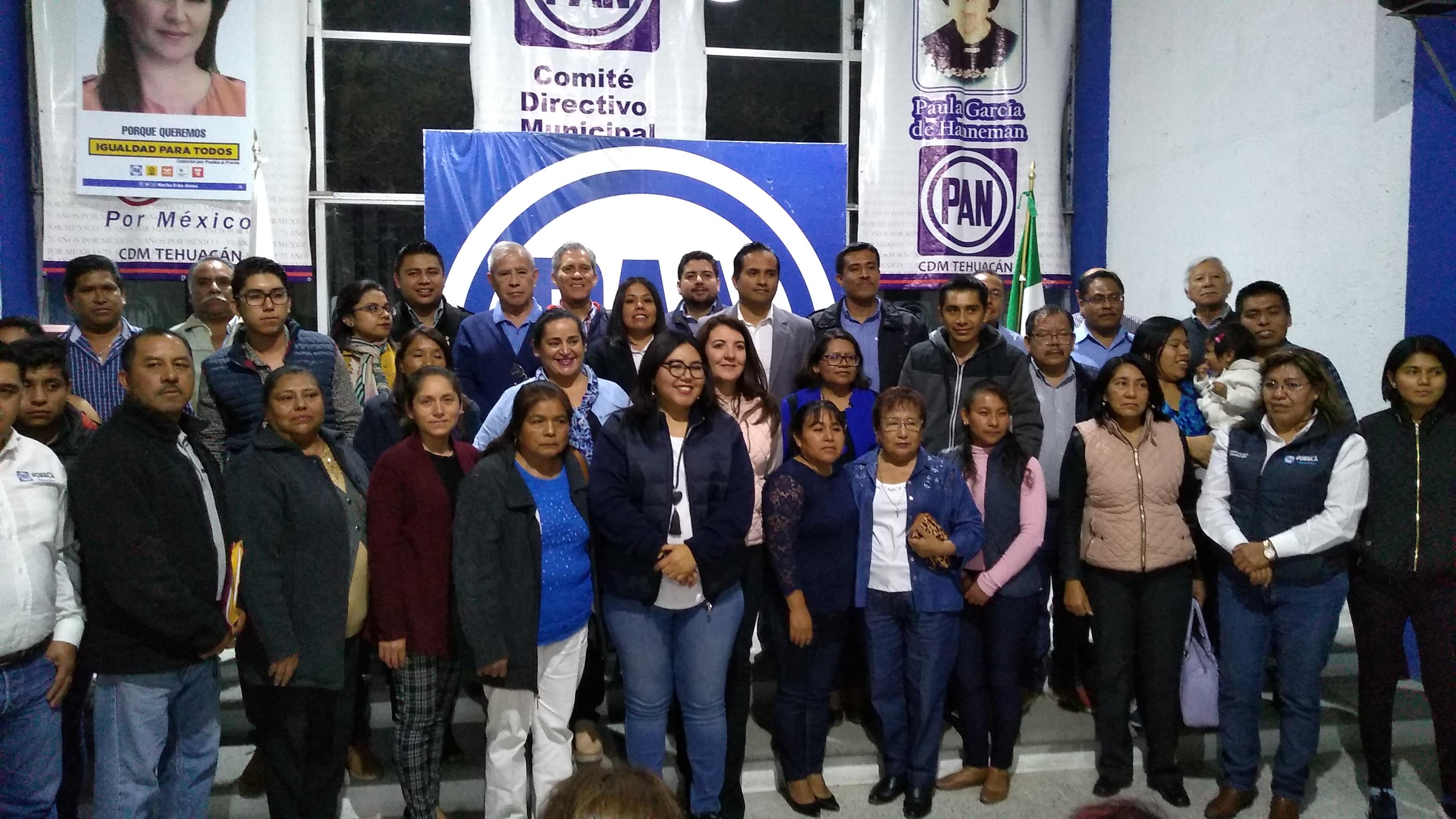Huerta confía que el PAN nuevamente ganará gubernatura