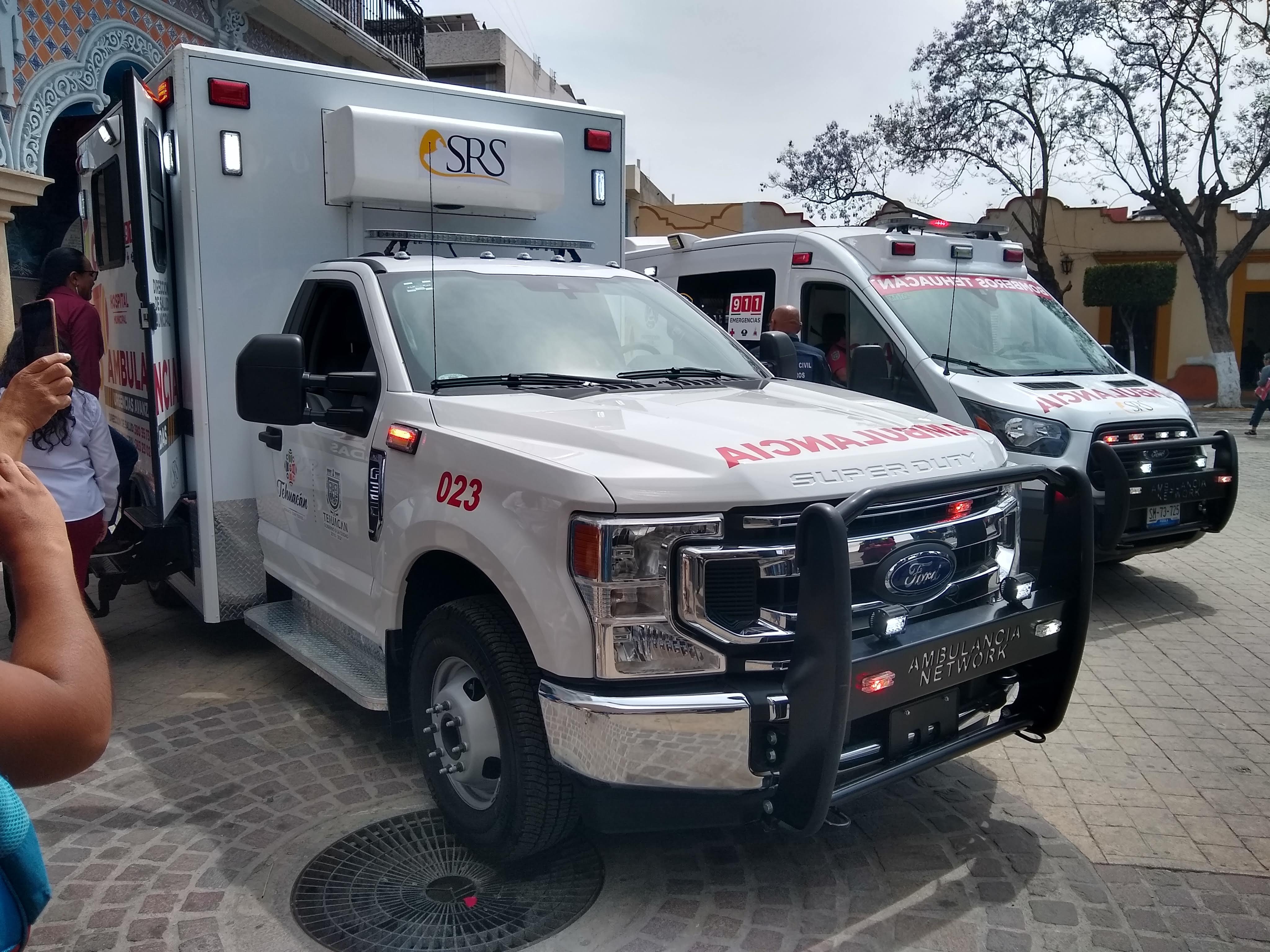 Hasta 7 traslados diarios de pacientes Covid realizan en Tehuacán