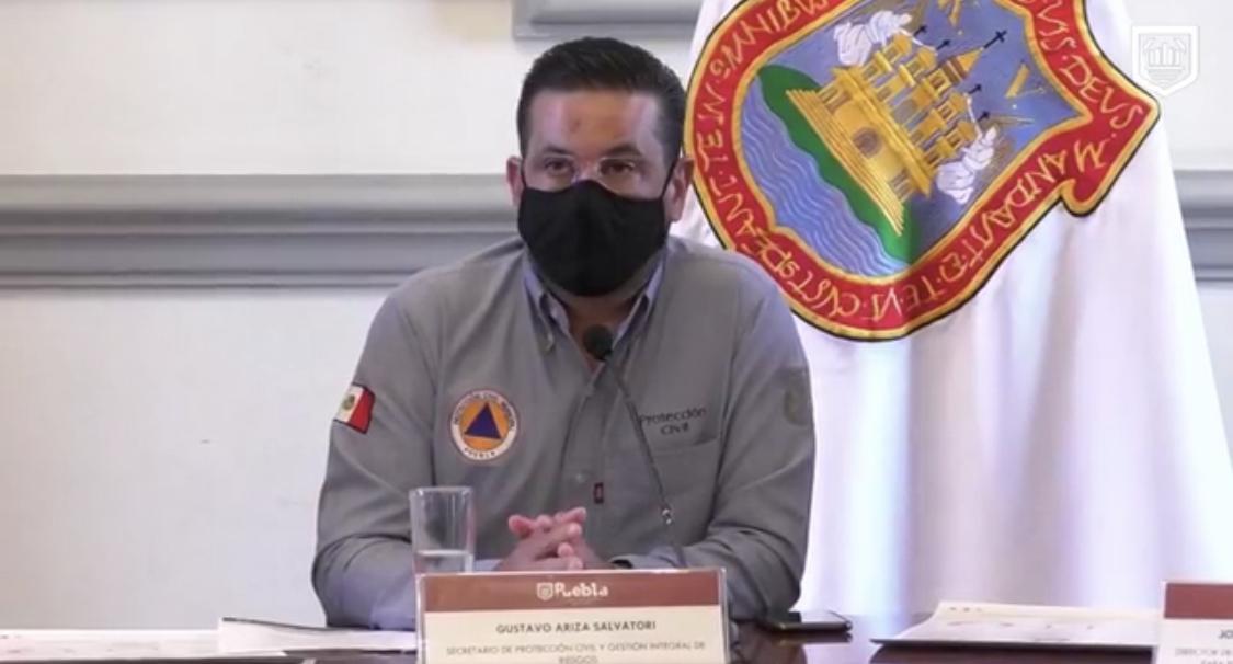 Cerrará el centro de Puebla si aumentan casos y muertes por COVID19: PC