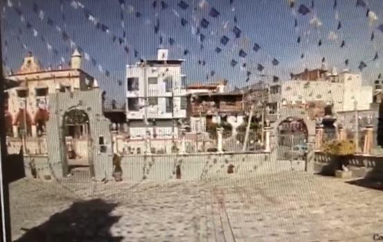 Sin temor a Dios, ahora roban en atrio de la parroquia de Huejotzingo