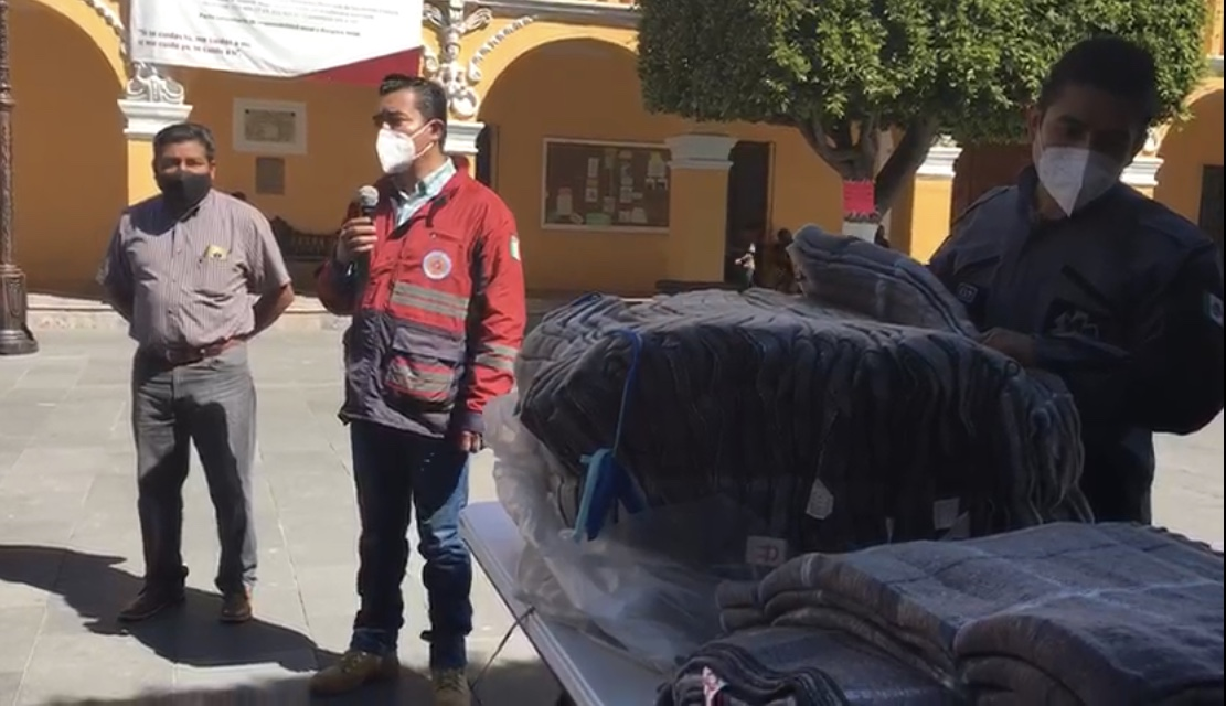 VIDEO Campaña Valores que Abrigan beneficia a 500 familias de San Andrés Cholula