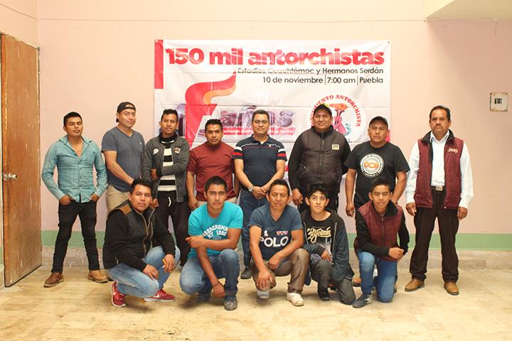 Invitan zacapoaxtecos a 45 aniversario de Antorcha