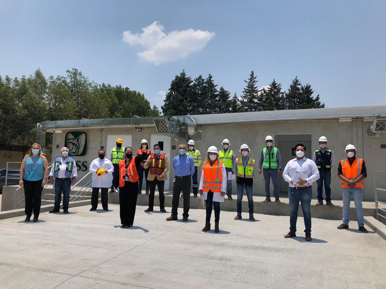 IMSS Puebla instala módulo de atención a pacientes Covid