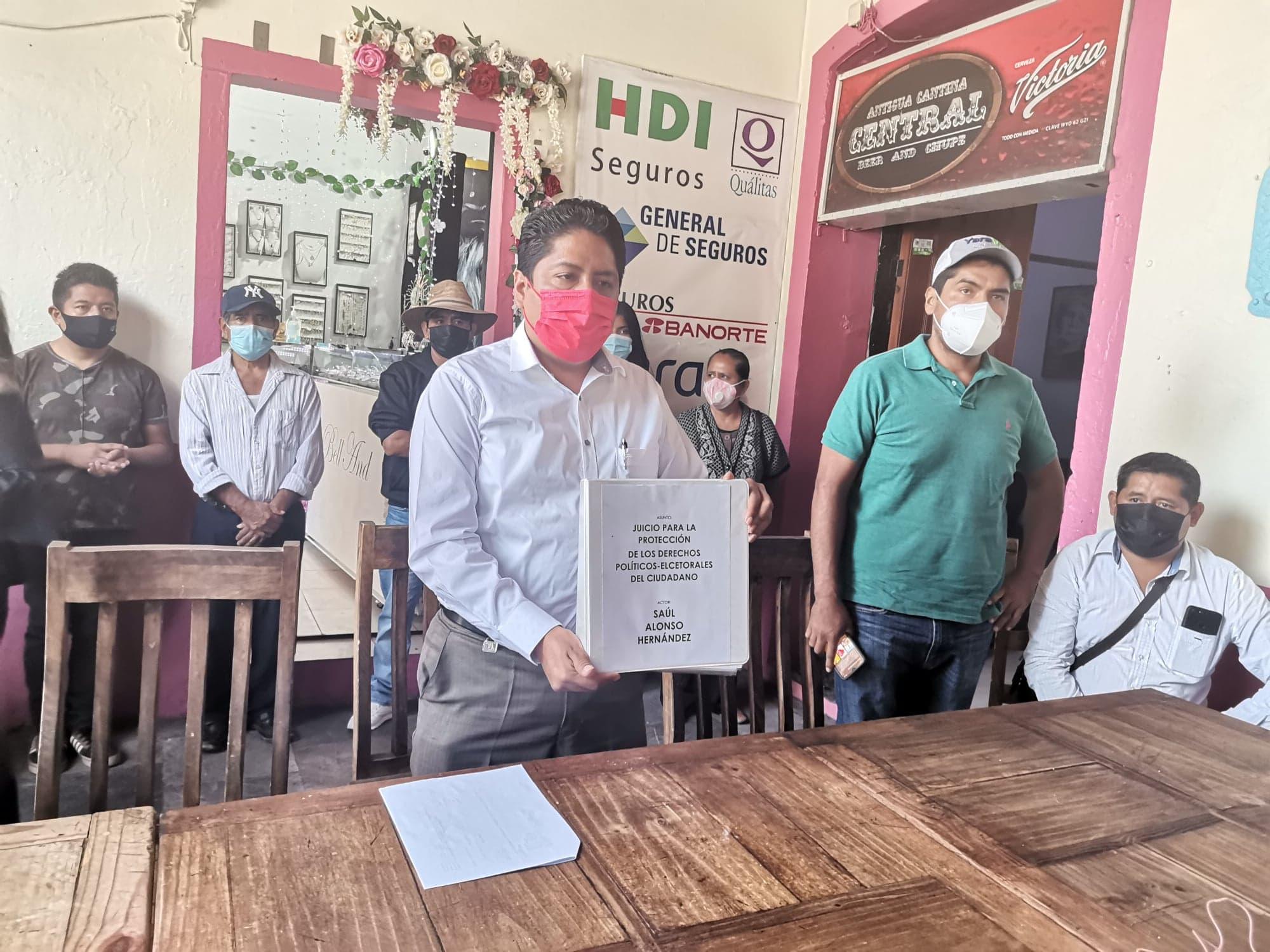 Buscan impugnar designación del candidato del PRI en Huaquechula