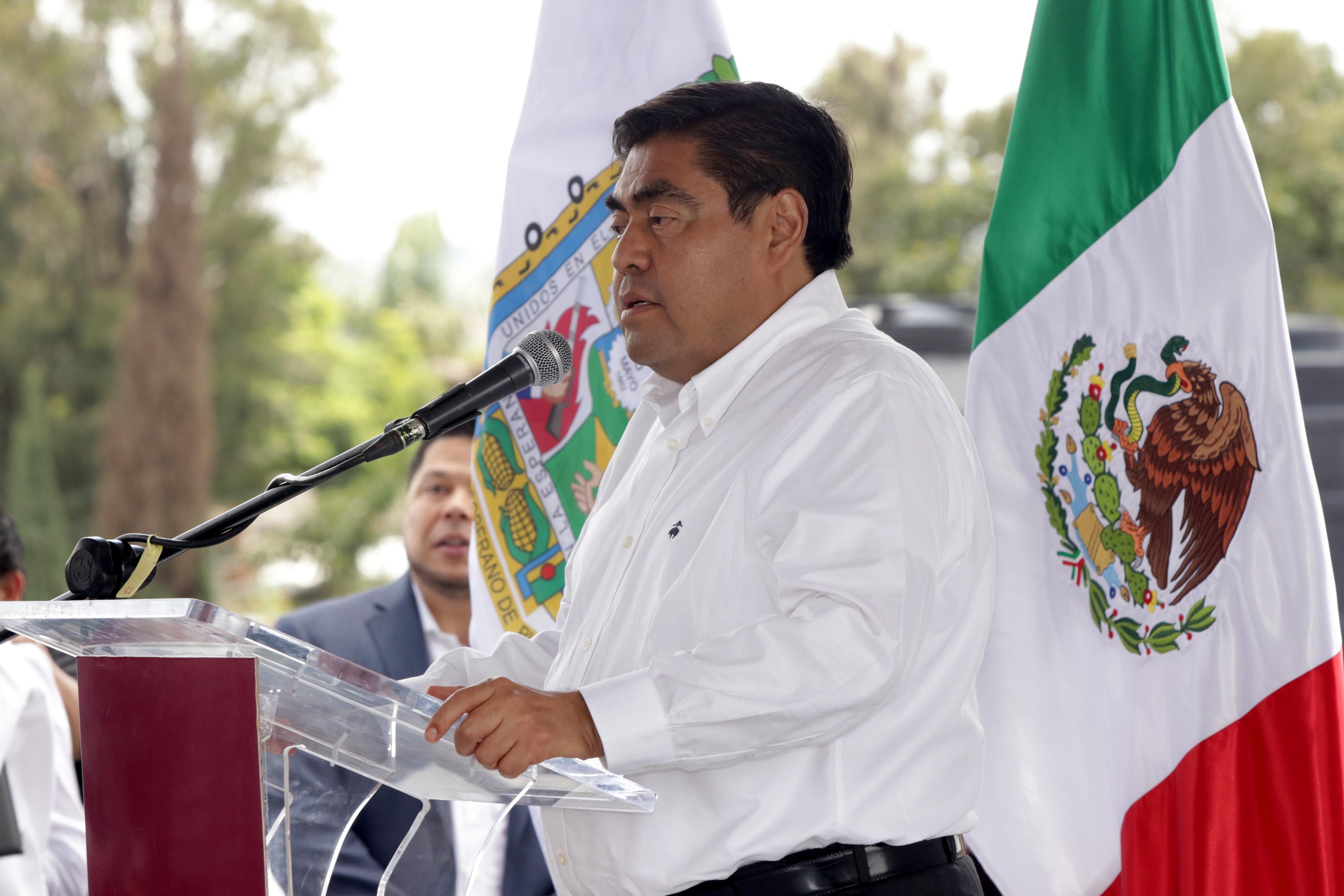 Confía Barbosa en obtener 91 mil mdp para Puebla en 2020
