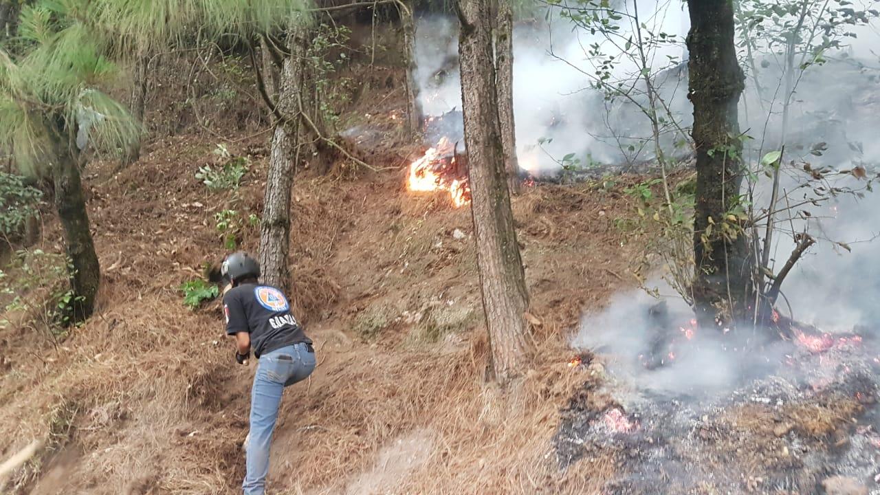 Consumen 8 incendios decenas de hectáreas en Huauchinango