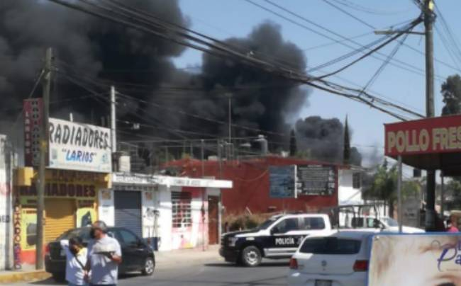 Incendios causan alarma en Cuautlancingo y Atzompa