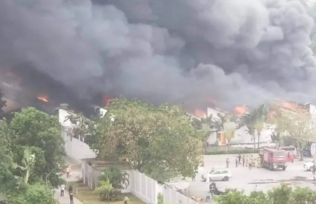Incendio afecta almacén de medicamentos contra el Covid19 de la Unisef