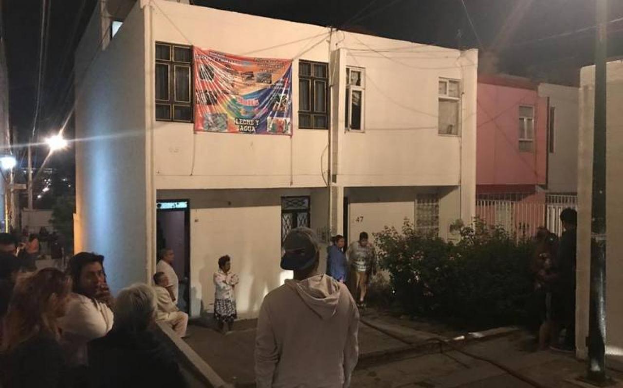 Fallece calcinado en departamento de La Rosa