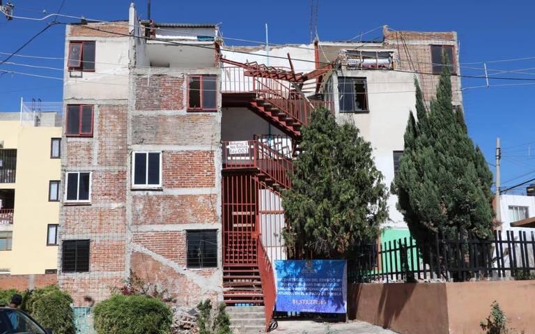 Sin habitar, departamentos restaurados tras el sismo en Atlixco