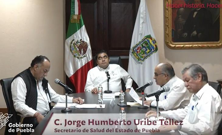 VIDEO Suma Puebla 9 decesos por COVID19 y 159 casos positivos