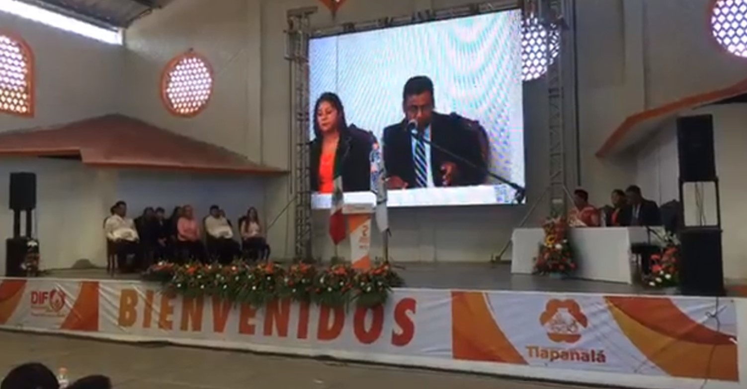 Pedirá edil de Tlapanalá apoyo de Barbosa para rehabilitar carreteras