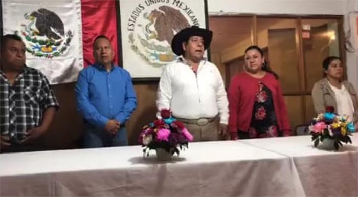 Por coronavirus ediles auxiliares rinden informe en Teziutlán
