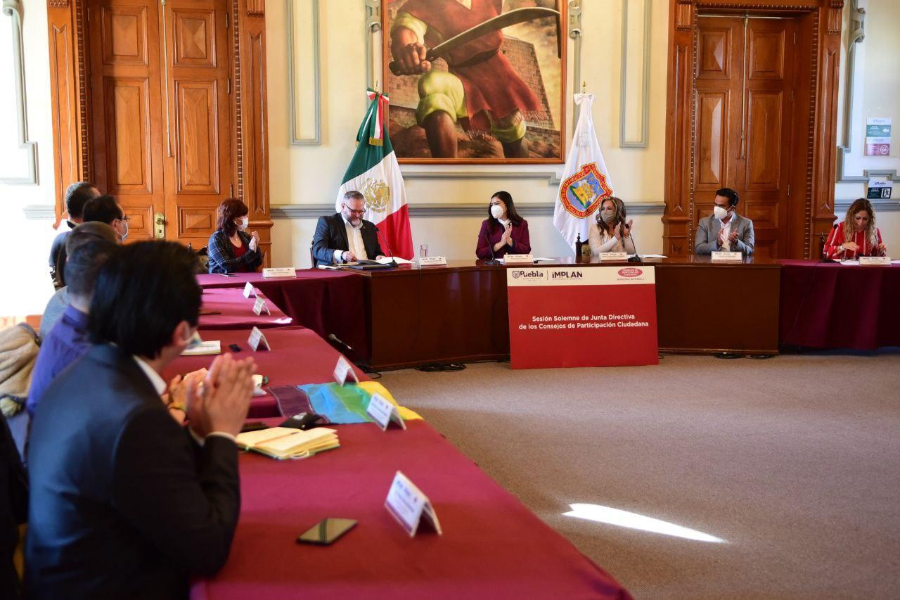 Rivera rinde protesta a nuevos miembros de los Consejos de Participación Ciudadana