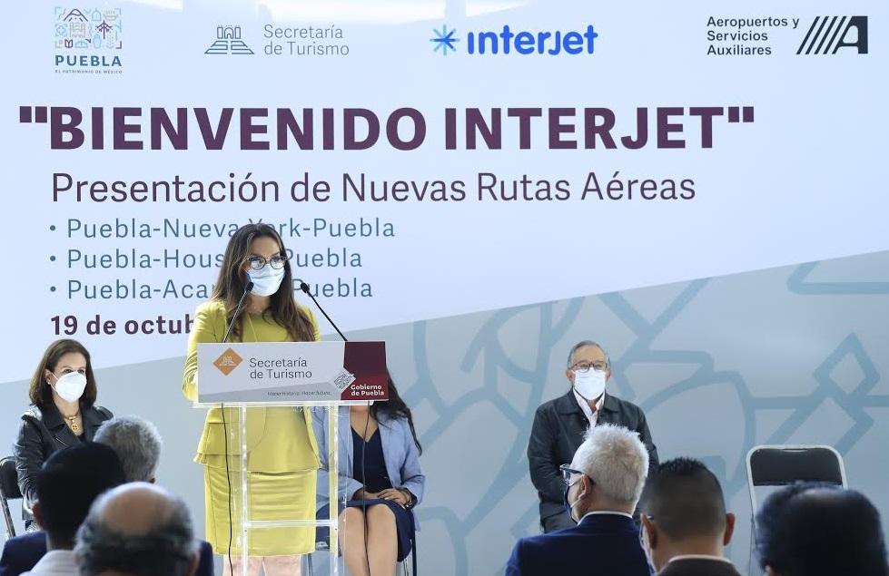Interjet anuncia vuelos a NY, Houston y Acapulco desde Puebla