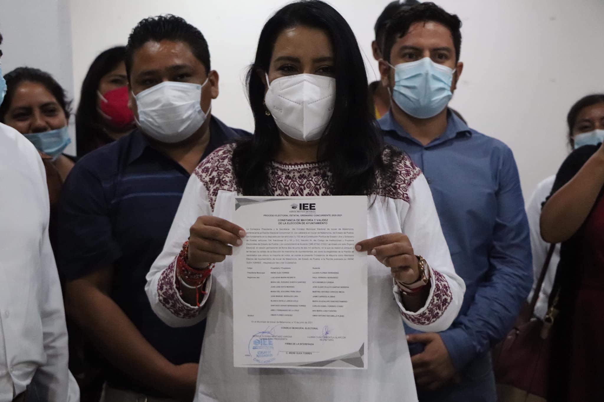 Por primera vez en su historia Izúcar tiene alcaldesa