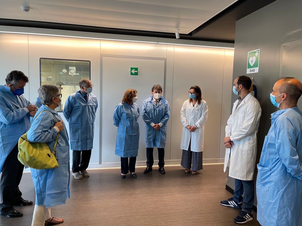 Gestionan producción de vacuna italiana anti Covid-19 en México