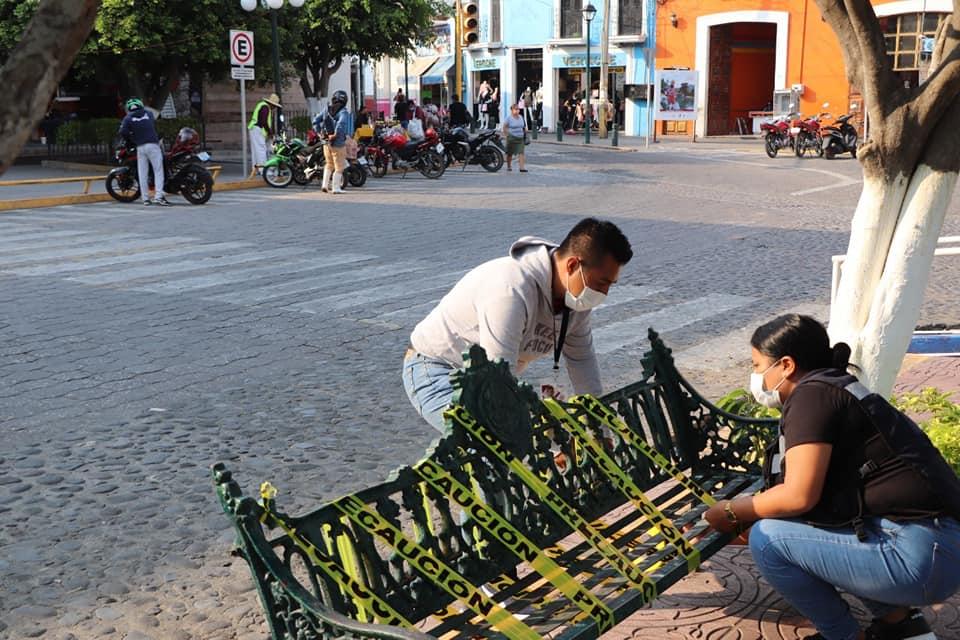 En Izúcar inicia reapertura gradual en espacios públicos