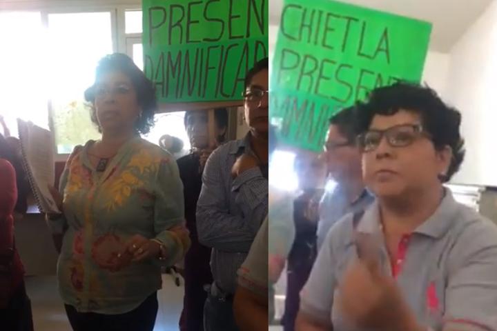 Acusan que regidores utilizan a comerciantes para manifestarse en Izúcar