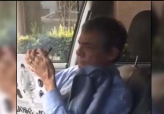 VIDEO Se hace viral grabación de José José en un Uber
