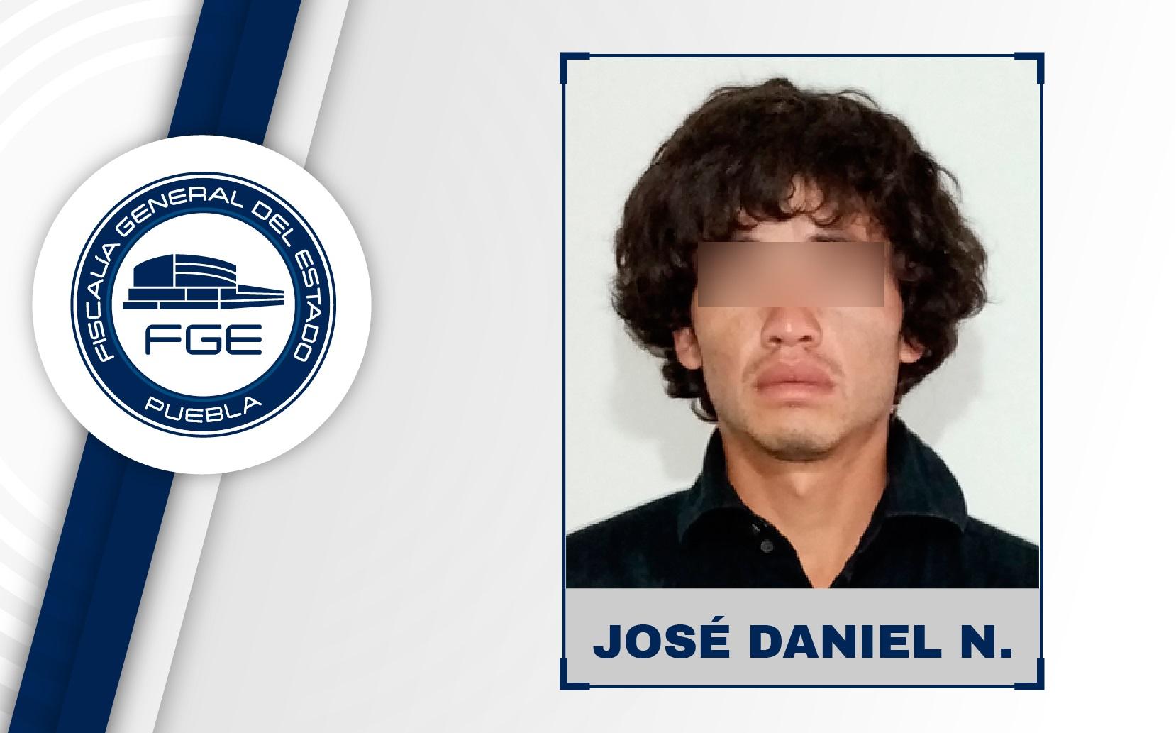 José Daniel golpeó y ofendió a su pareja en Geo Villas Puebla