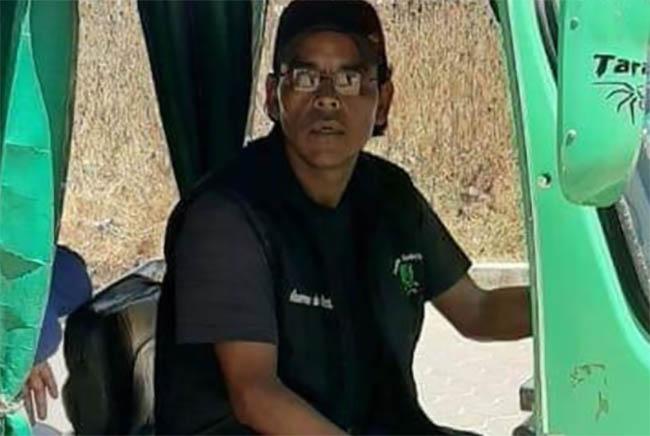 Juan Gabriel hizo un viaje en su mototaxi y desapareció en Cuapiaxtla