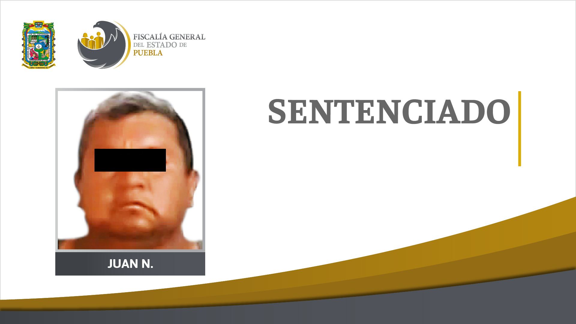 Le dan 23 años de cárcel a Juan por matar un hombre en Tehuacán