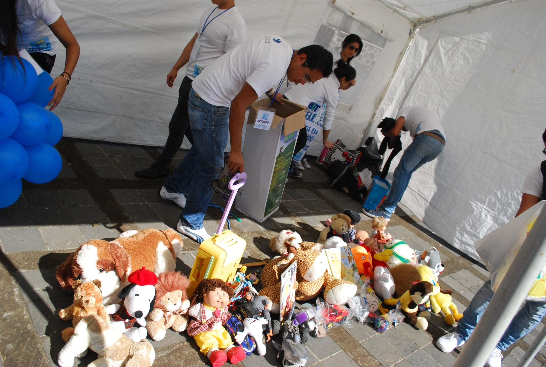Congreso  será  centro  de  acopio  de  juguetes  para niños de la Sierra Norte