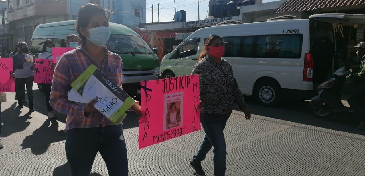 A una semana de su asesinato piden justicia para Mónica Monserrat