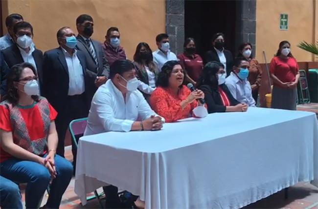 Karina Pérez Popoca se reincorpora al gobierno de San Andrés Cholula