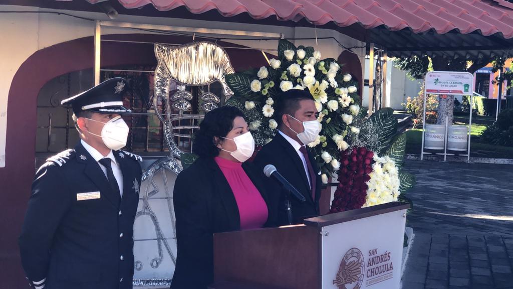 San Andrés Cholula reconoce al personal médico y ciudadanos caídos por COVID
