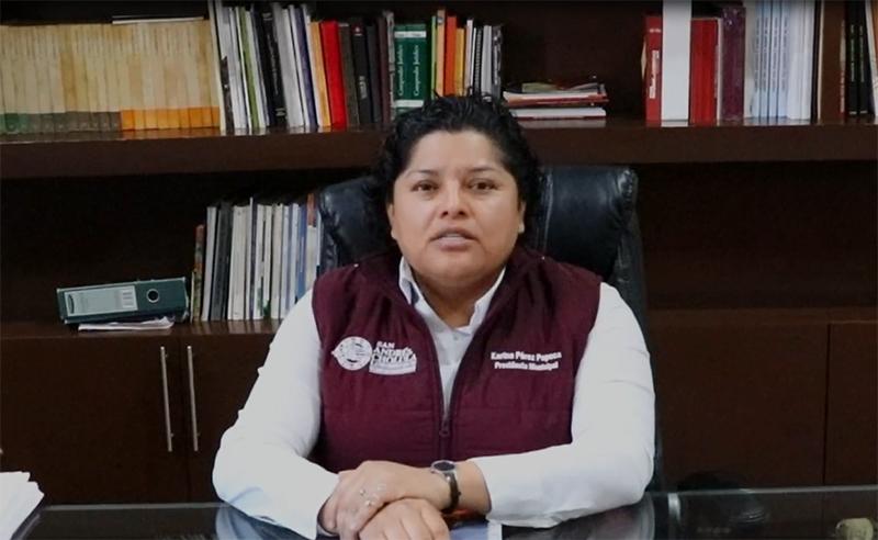 Quédense con la duda de mi reelección, daré noticias a final de 2020: Karina Pérez