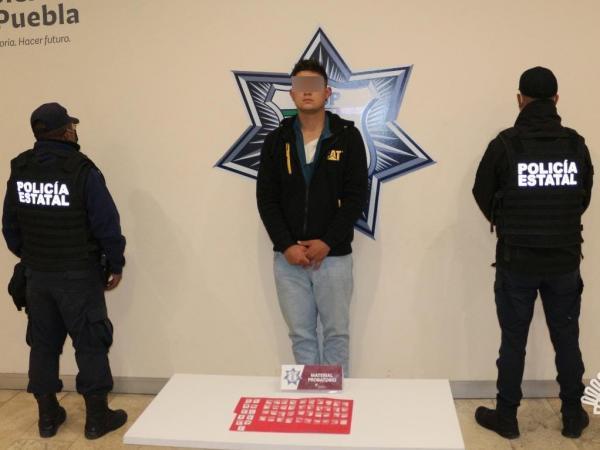 Cae en Cholula Kevin Frank; vendía droga en El Carmen y Parque Industrial Puebla