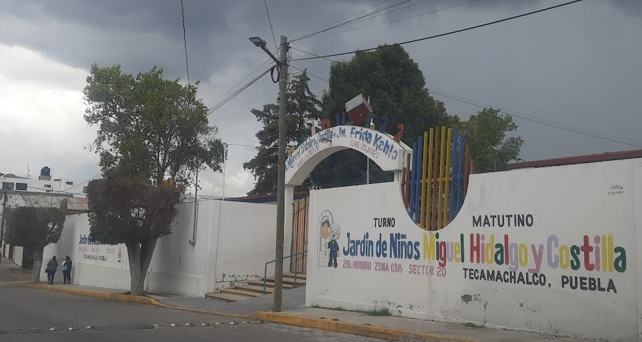 Suspenden clases en preescolar de Tecamachalco por COVID-19