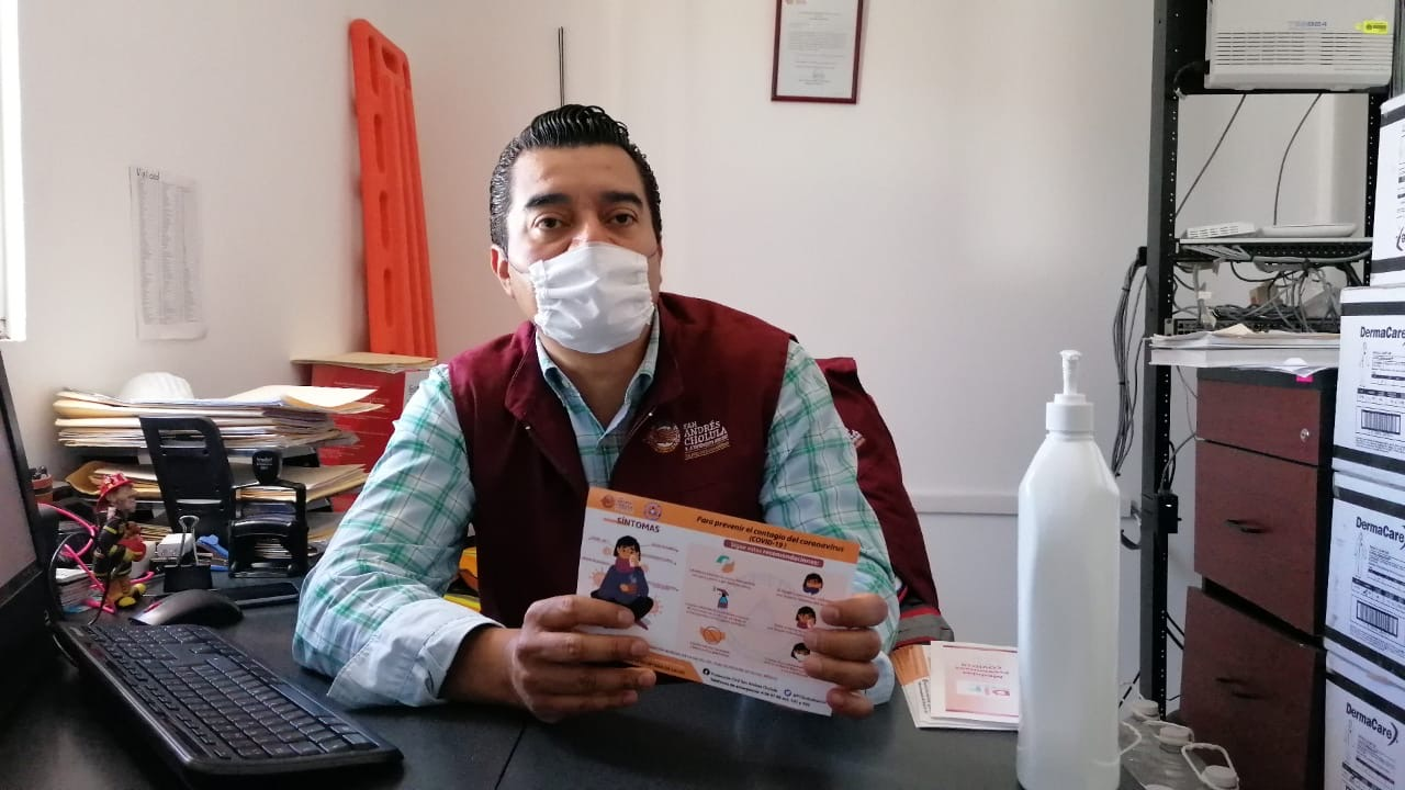 Se entregarán en San Andrés Cholula 10 mil kits preventivos