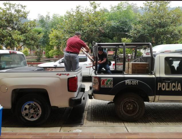 Reciben brigadistas herramientas para combatir incendios forestales