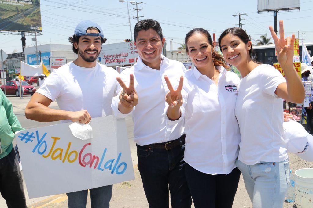 La ciudad de Puebla está en completo desorden: Eduardo Rivera