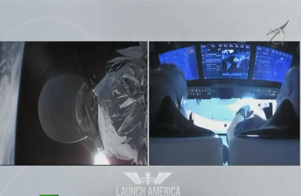 VIDEO: SpaceX lanza primera misión privada en la historia