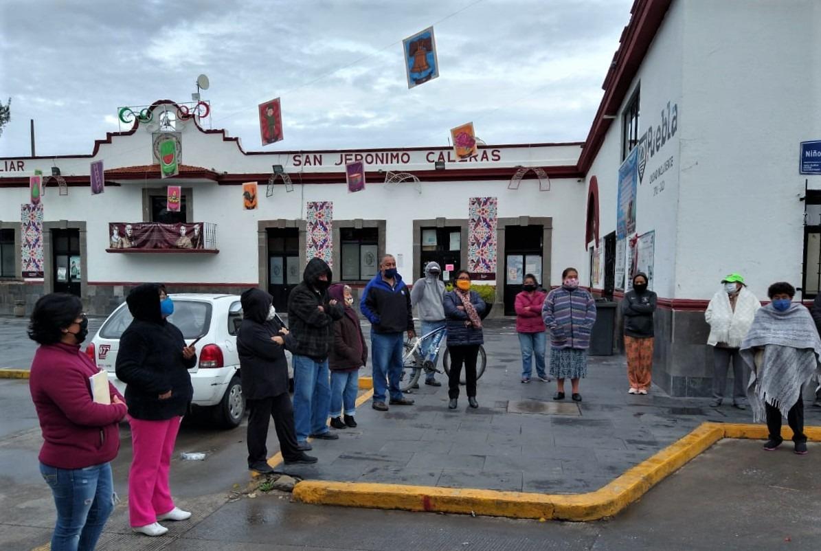 Ayuntamiento de Puebla reubica tianguis en San Jerónimo Caleras
