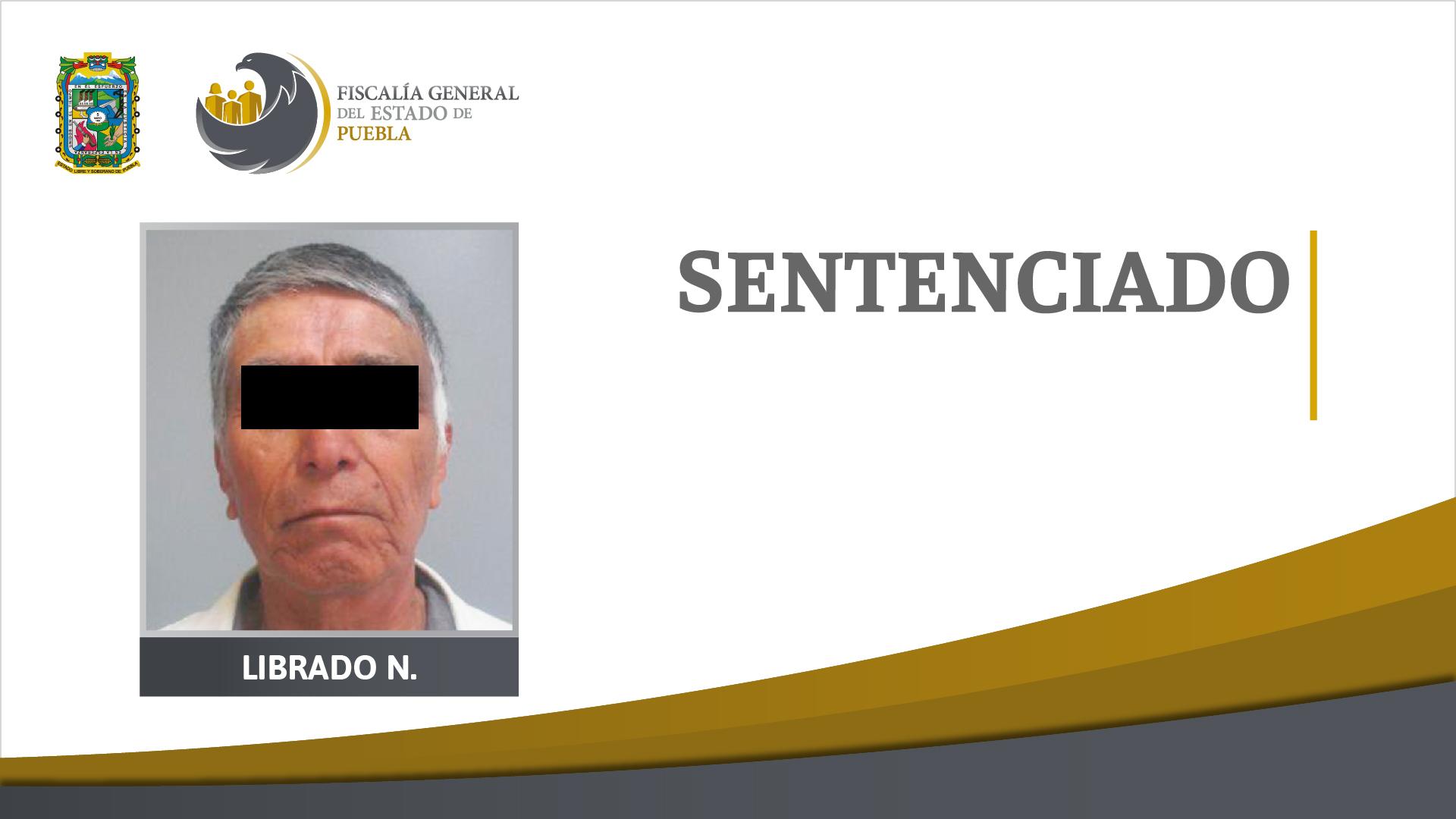 Sentencian a 45 años de cárcel a abuelito feminicida en Venustiano Carranza